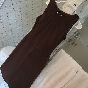 BCBG Brown Sleeveless Dress